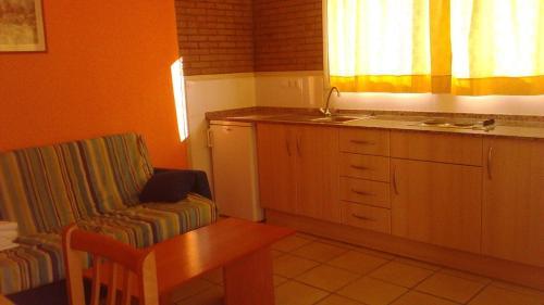 Cuina o zona de cuina de Apartamentos Famara