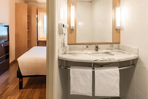 Um banheiro em Ibis Sao Paulo Interlagos