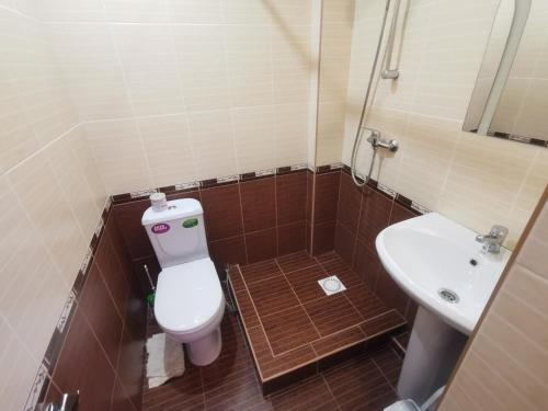 Ванная комната в Gostevoy dom Terrasa