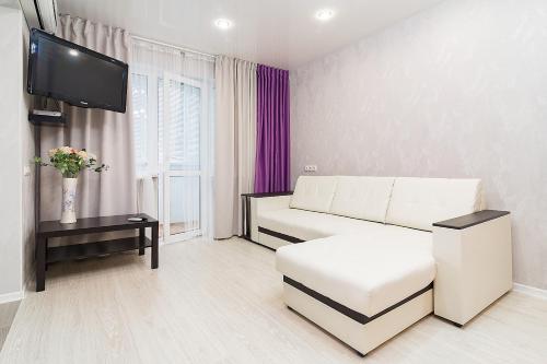 Гостиная зона в Apartment na Chkalova 53A