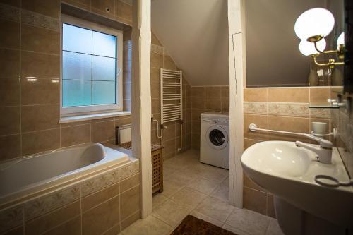 Kúpeľňa v ubytovaní Cactus Regetovka Après-Ski Bar