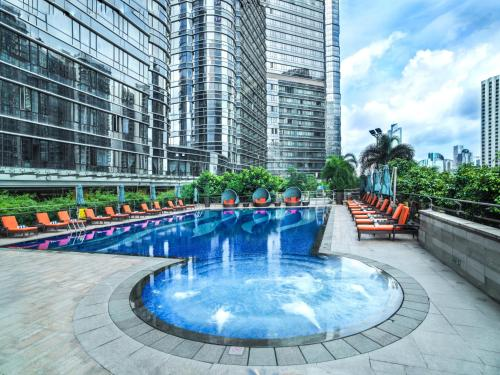 The swimming pool at or near Fraser Suites Guangzhou