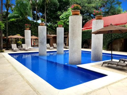The swimming pool at or near Hotel & Spa Hacienda de Cortés