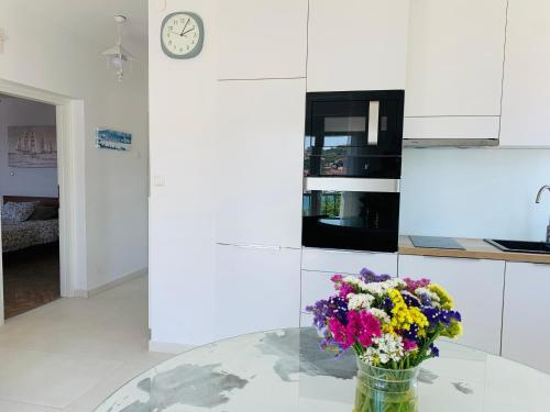 A kitchen or kitchenette at Trogir Penthouse IVY
