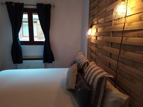 Een bed of bedden in een kamer bij Rural Arco Iris