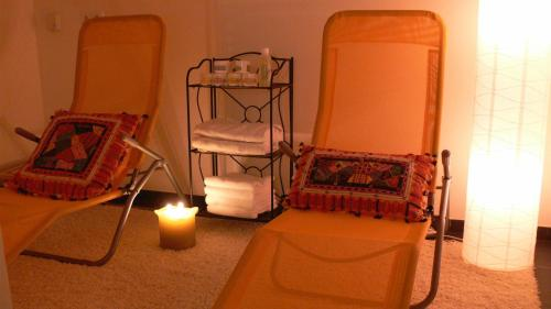 Ein Etagenbett oder Etagenbetten in einem Zimmer der Unterkunft Gasthaus Engel