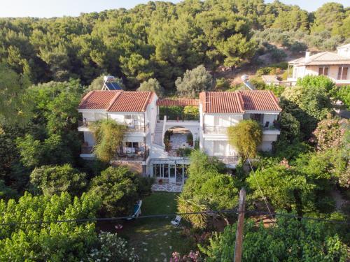Άποψη από ψηλά του Heracles Guesthouse