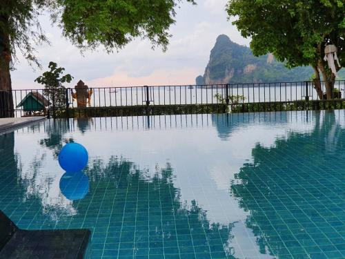 The swimming pool at or near Ibiza House Phi Phi