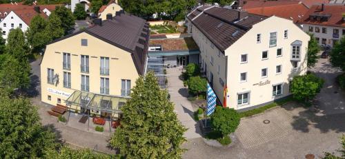 A bird's-eye view of Hotel Zur Post