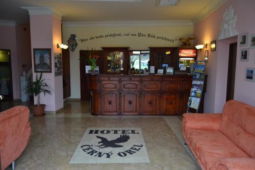 Vstupní hala nebo recepce v ubytování Hotel Černý Orel Žatec