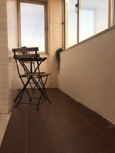 Uma varanda ou terraço em Ria do Sal
