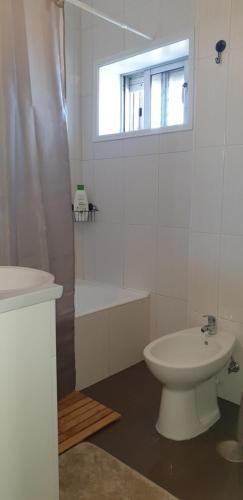 Uma casa de banho em Ria do Sal