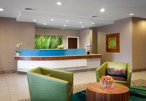The lobby or reception area at SpringHill Suites Phoenix Downtown