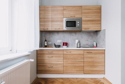 A kitchen or kitchenette at Sopot Host Studio