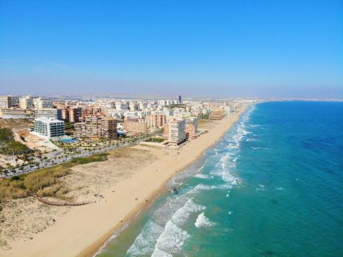 Letecký snímek ubytování Sunny Spain Familiar Apartment