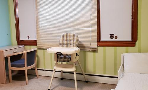 A seating area at Gorham Motor Inn