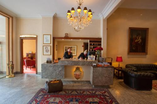 Hall ou réception de l'établissement Hotel Imperial