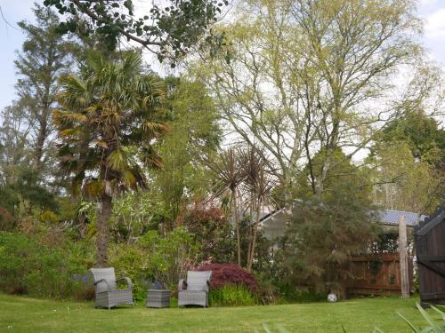 A garden outside Rodeen Country House