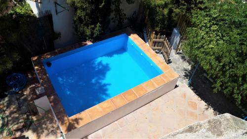 "A view of the pool at Casa Cueva ""La Estrella"" or nearby"