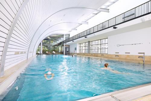 The swimming pool at or close to Aspria Berlin Ku'damm