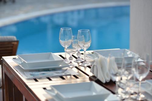 Εστιατόριο ή άλλο μέρος για φαγητό στο Ξενοδοχείο Έλσα