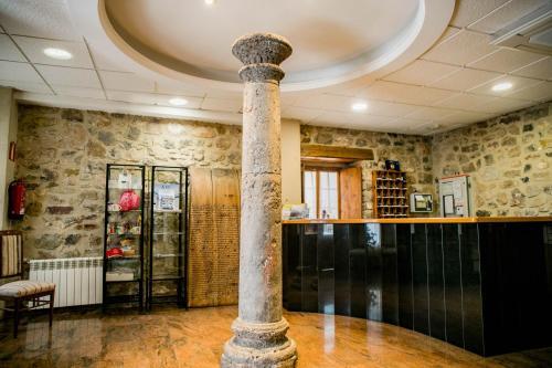The lobby or reception area at Hotel Casa Palacio