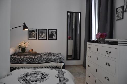 Letto o letti in una camera di The flat via roma 45