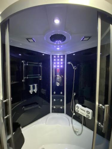 Ein Badezimmer in der Unterkunft Villa in Walsrode