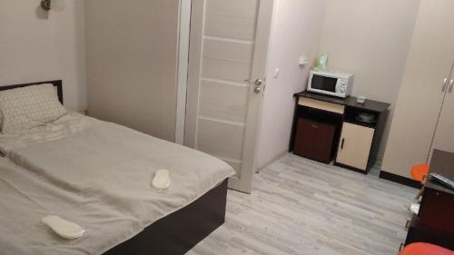 Кровать или кровати в номере Мини-отель Пестелия