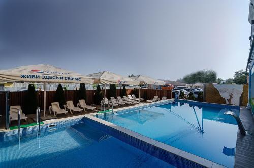 The swimming pool at or near Золотой берег
