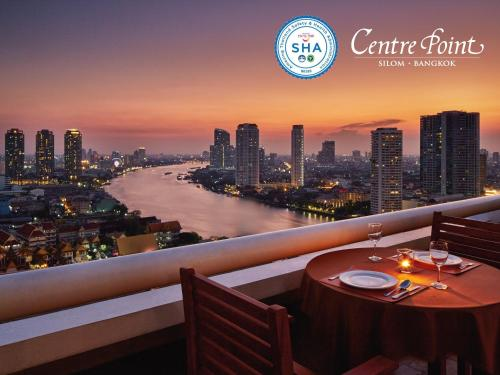 A restaurant or other place to eat at Centre Point Silom