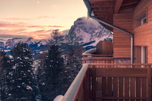 Ein Balkon oder eine Terrasse in der Unterkunft Paradiso Pure Living Vegetarian Hotel