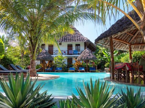 Bazén v ubytovaní Aluna Nungwi alebo v jeho blízkosti