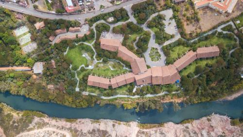 A bird's-eye view of Tambo del Inka, a Luxury Collection Resort & Spa, Valle Sagrado
