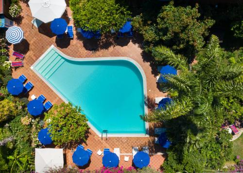 A view of the pool at Hotel Villa Elisa & Spa or nearby