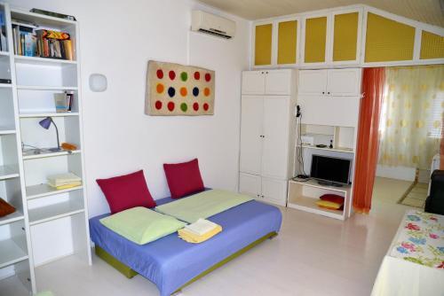 A seating area at Apartment Art Adriatic