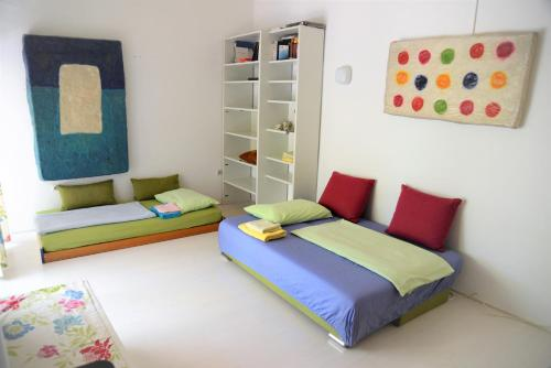 A bed or beds in a room at Apartment Art Adriatic