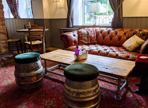 A seating area at The Sun Inn