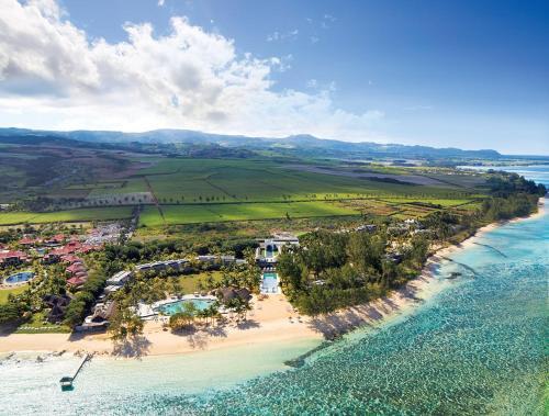 A bird's-eye view of Outrigger Mauritius Beach Resort