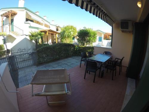 Balkón nebo terasa v ubytování Villaggio Cristina 2
