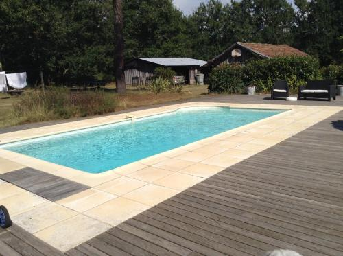 The swimming pool at or near Maison Bernachot