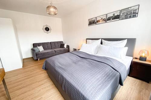 Luxus-Apartment in Leipzig mit Privat-Parkplatz