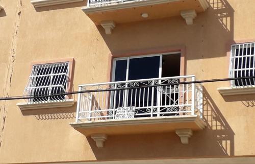 A balcony or terrace at Apartamento Mobiliado Vila Iracema