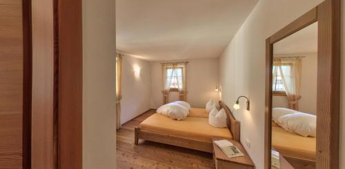 Letto o letti in una camera di Naturresidenz Theistadl