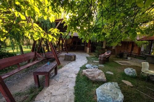 A garden outside La Livada