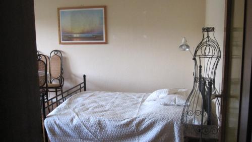 Ein Bett oder Betten in einem Zimmer der Unterkunft Bei Rosi
