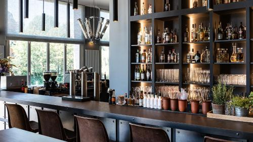 The lounge or bar area at AMERON Hotel Abion Spreebogen Berlin