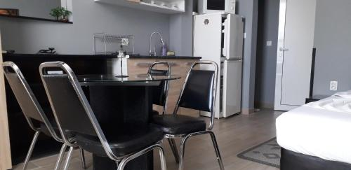 A kitchen or kitchenette at Guest Rooms Tivona