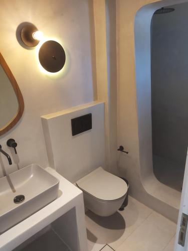 Ein Badezimmer in der Unterkunft Villa Roussa