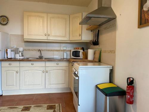 A kitchen or kitchenette at Gîtes Perruchet